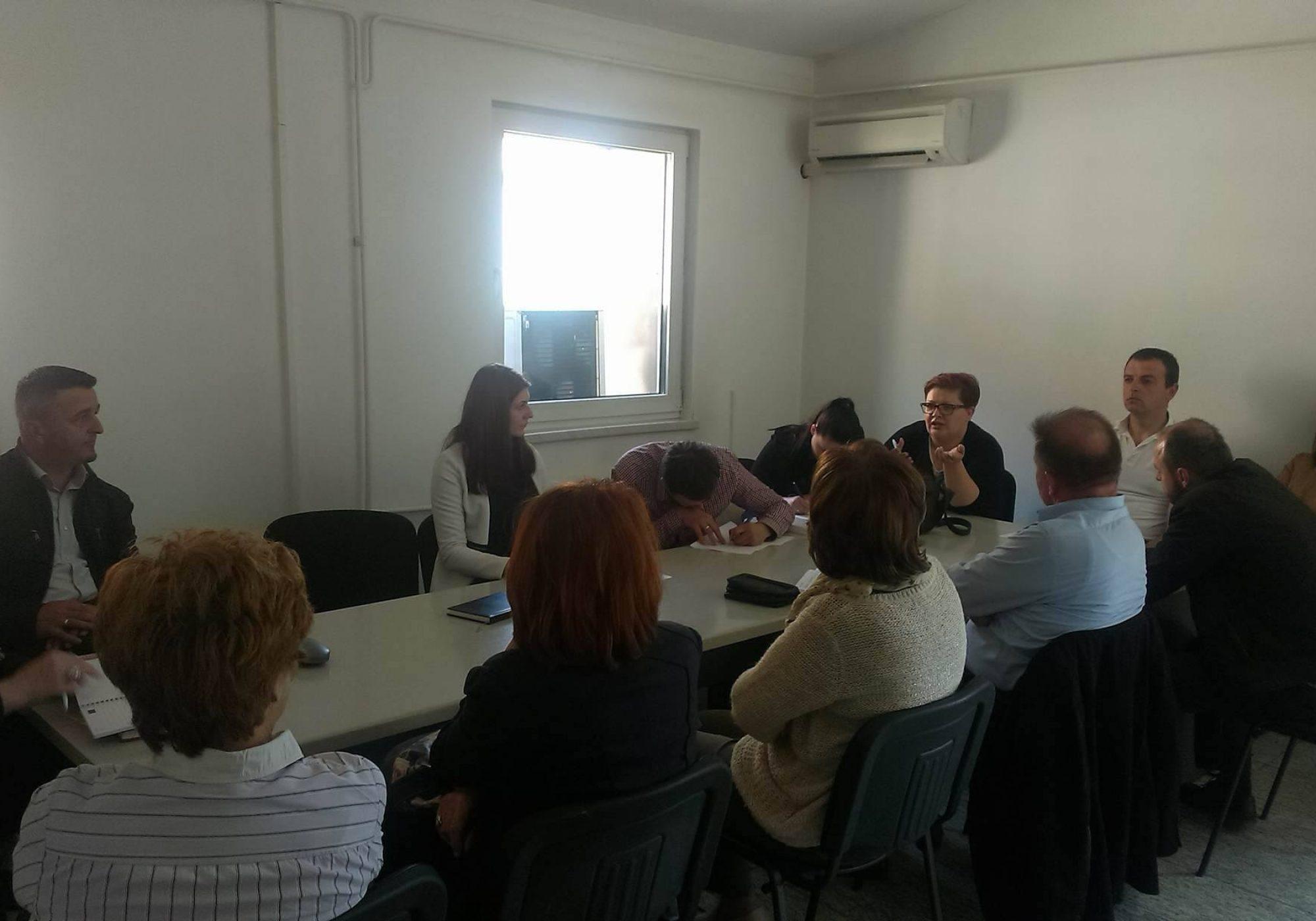 Održan sastanak Udruženja/Udruge socijalnih radnika SBK/KSB