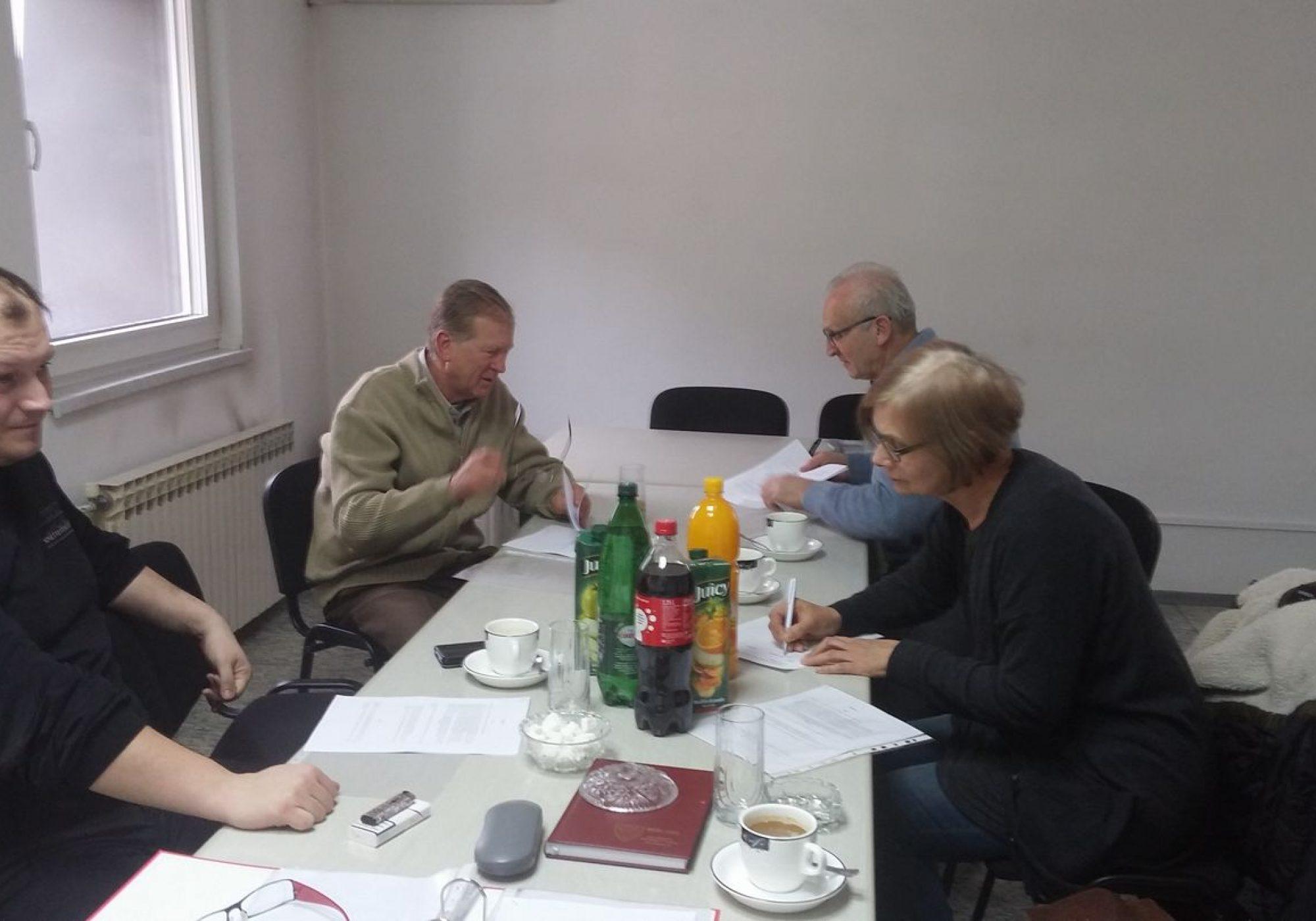 Sastanak u centru za socijalni rad Travnik