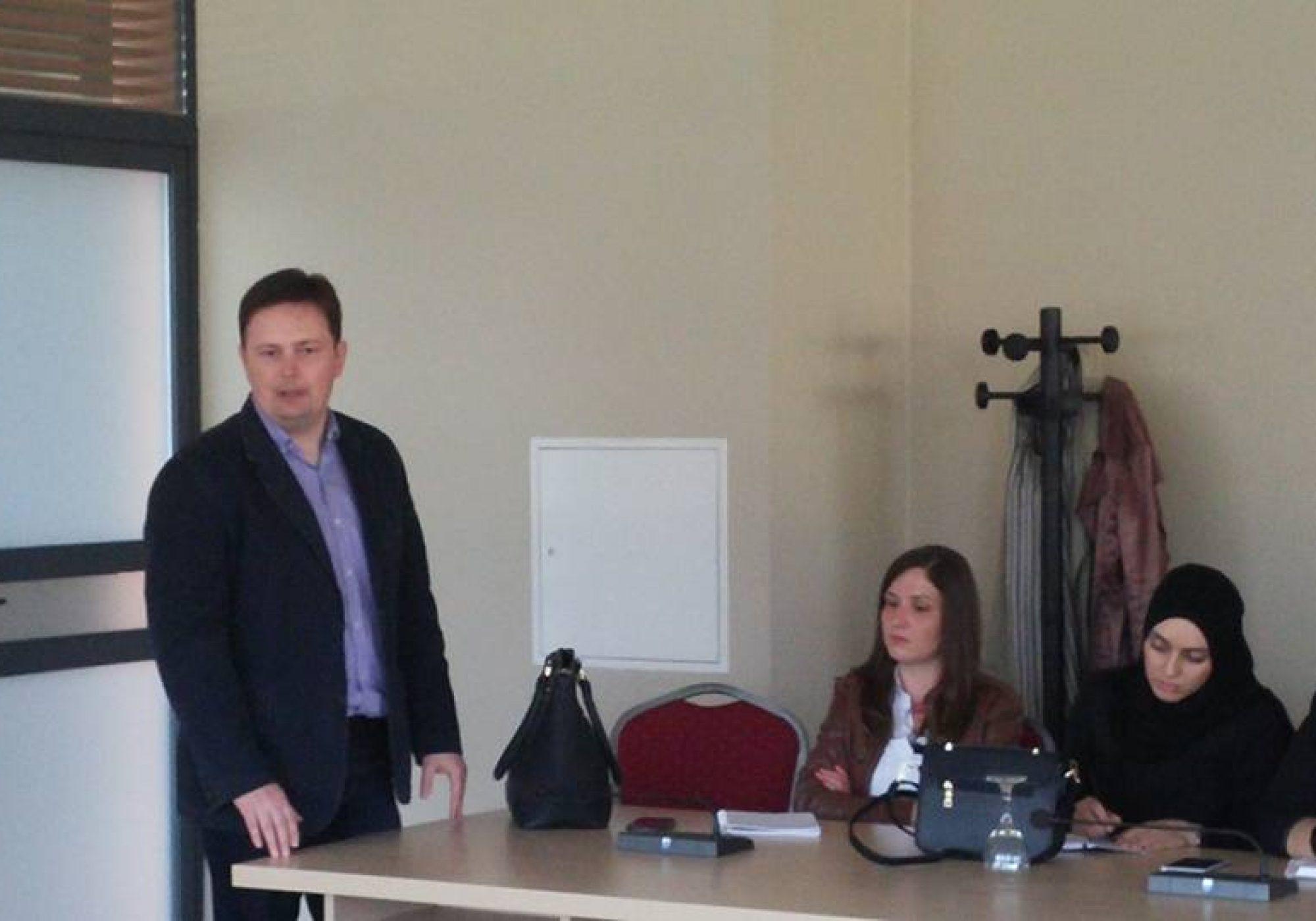 Održana edukacija u organizaciji JU Centar za socijalni rad Jajce u partnerstvu sa Ministarstvom zdravstva i socijalne politike SBK/KSB