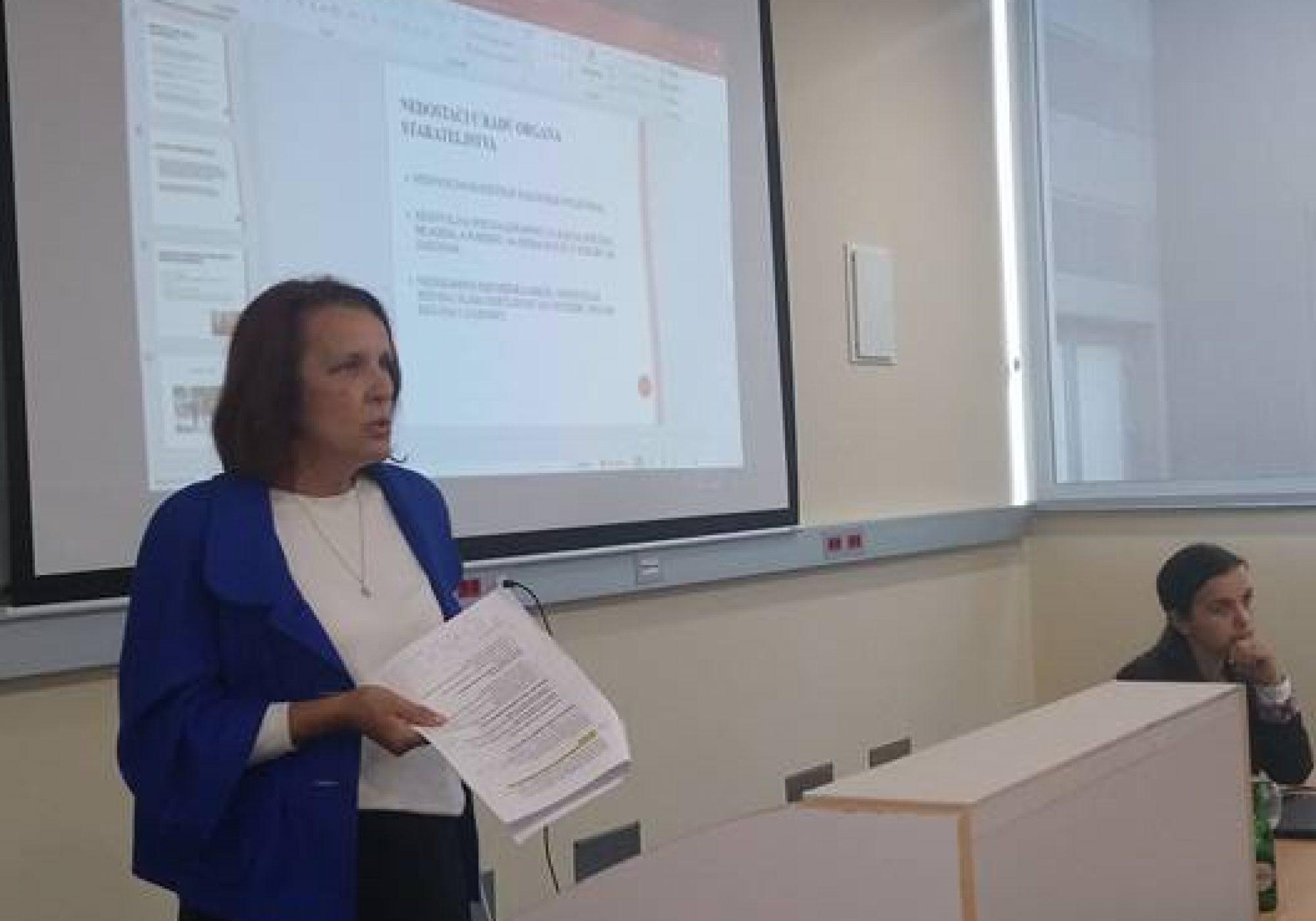 Održana edukacija u prostorijama Internacionalnog Univerziteta u Travniku