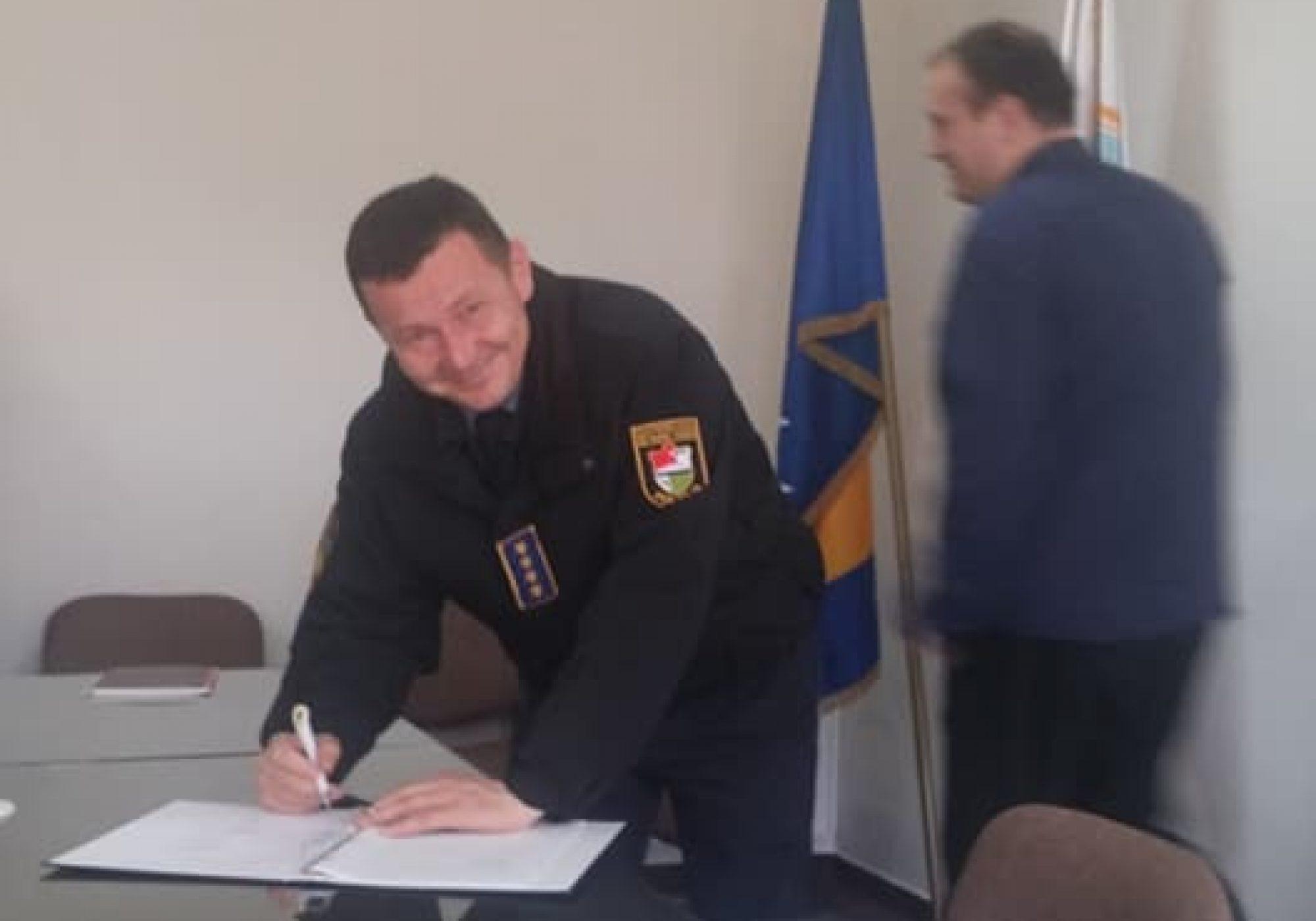 Potpisivanje protokola o postupanju u slučajevima nasilja u porodici u Travniku