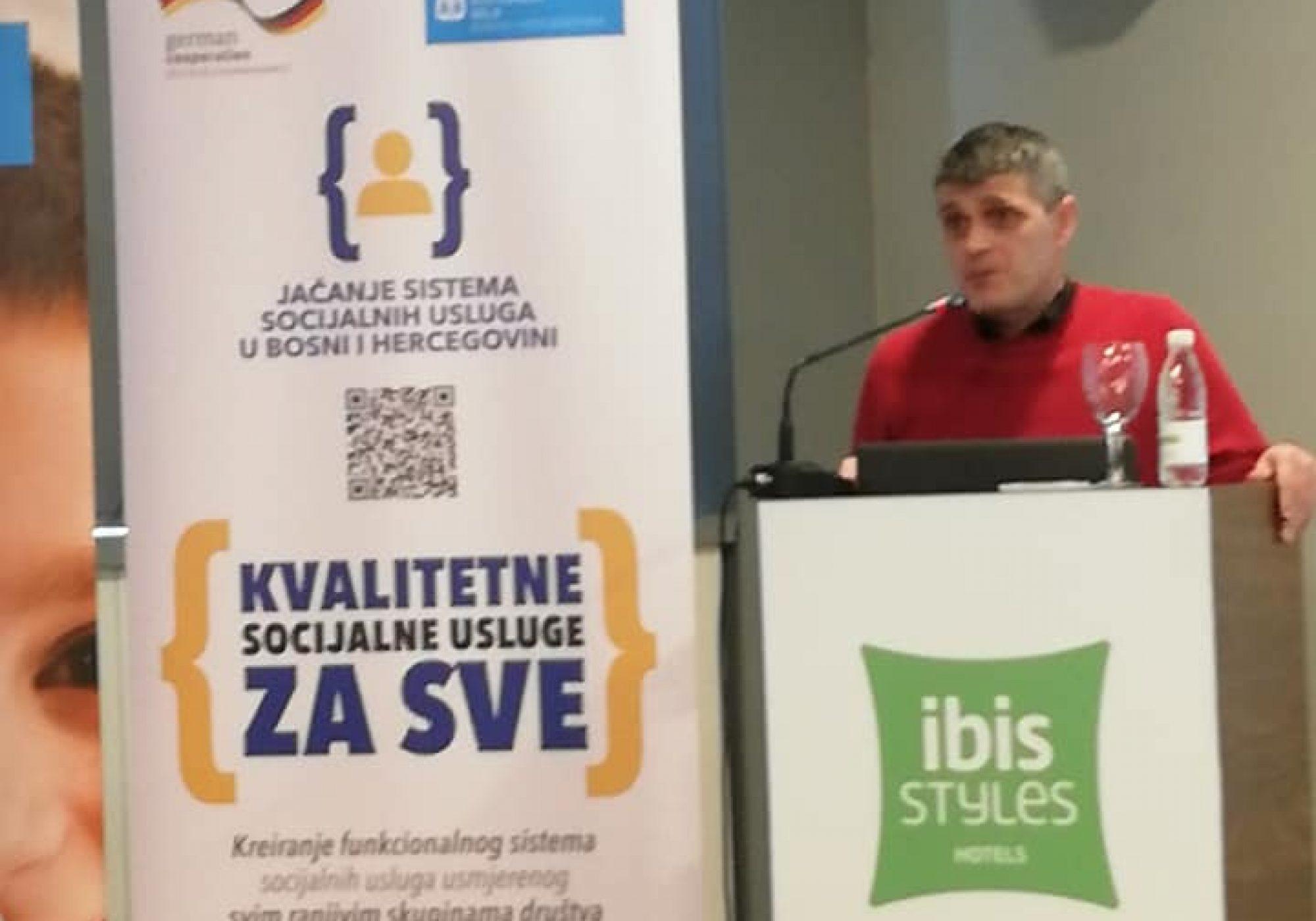 """Održana konferencija na temu """"Jačanje sistema socijalnih usluga u Bosni i Hercegovini"""""""