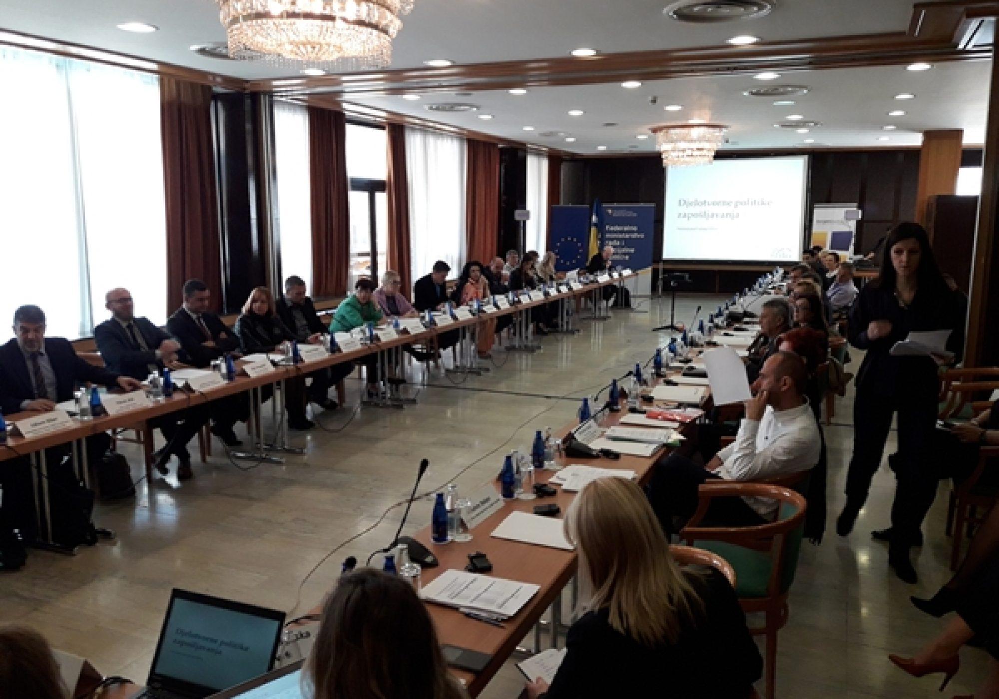 Održan konsultativni sastanak povodom nacrta strategije zapošljavanja u FBiH